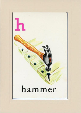 H is for Hammer - PLYMOUTH CARD COMPANY  - 31