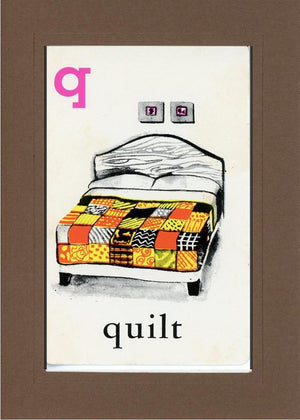 Q is for Quilt - PLYMOUTH CARD COMPANY  - 33