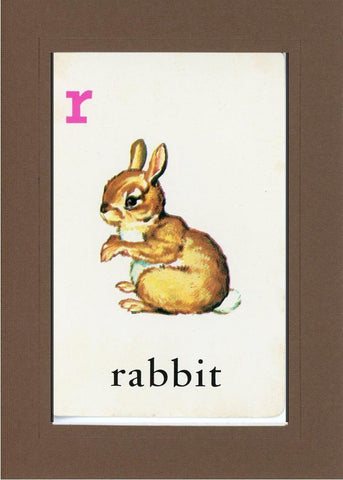 R is for Rabbit - PLYMOUTH CARD COMPANY  - 33