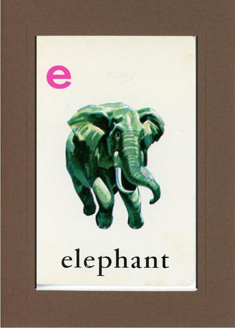 E is for Elephant - PLYMOUTH CARD COMPANY  - 22