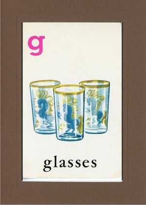 G is for Glasses - PLYMOUTH CARD COMPANY  - 22
