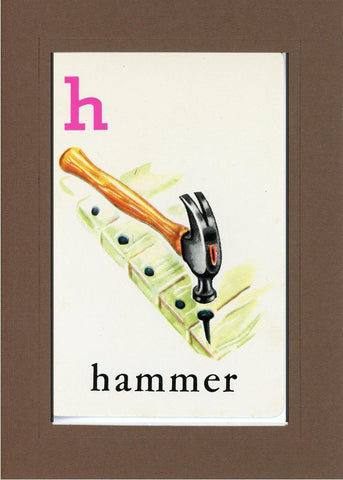 H is for Hammer - PLYMOUTH CARD COMPANY  - 22