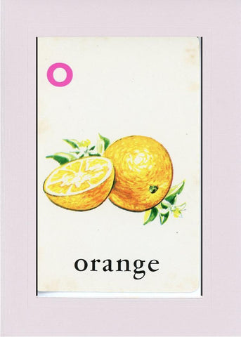O is for Orange - PLYMOUTH CARD COMPANY  - 33