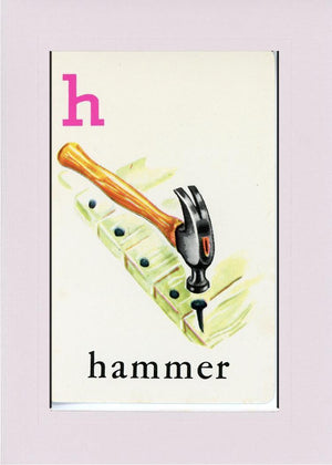 H is for Hammer - PLYMOUTH CARD COMPANY  - 21