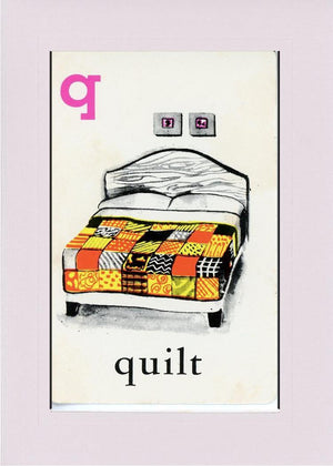 Q is for Quilt - PLYMOUTH CARD COMPANY  - 34