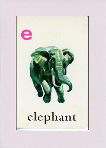 E is for Elephant - PLYMOUTH CARD COMPANY  - 21