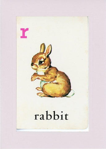 R is for Rabbit - PLYMOUTH CARD COMPANY  - 34