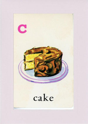 C is for Cake - PLYMOUTH CARD COMPANY  - 20