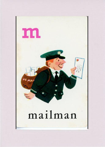 M is for Mailman - PLYMOUTH CARD COMPANY  - 20