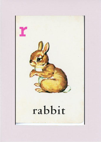 R is for Rabbit - PLYMOUTH CARD COMPANY  - 21