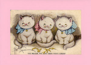 Three Little Kittens - PLYMOUTH CARD COMPANY  - 1