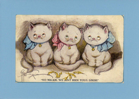 Three Little Kittens - PLYMOUTH CARD COMPANY  - 2