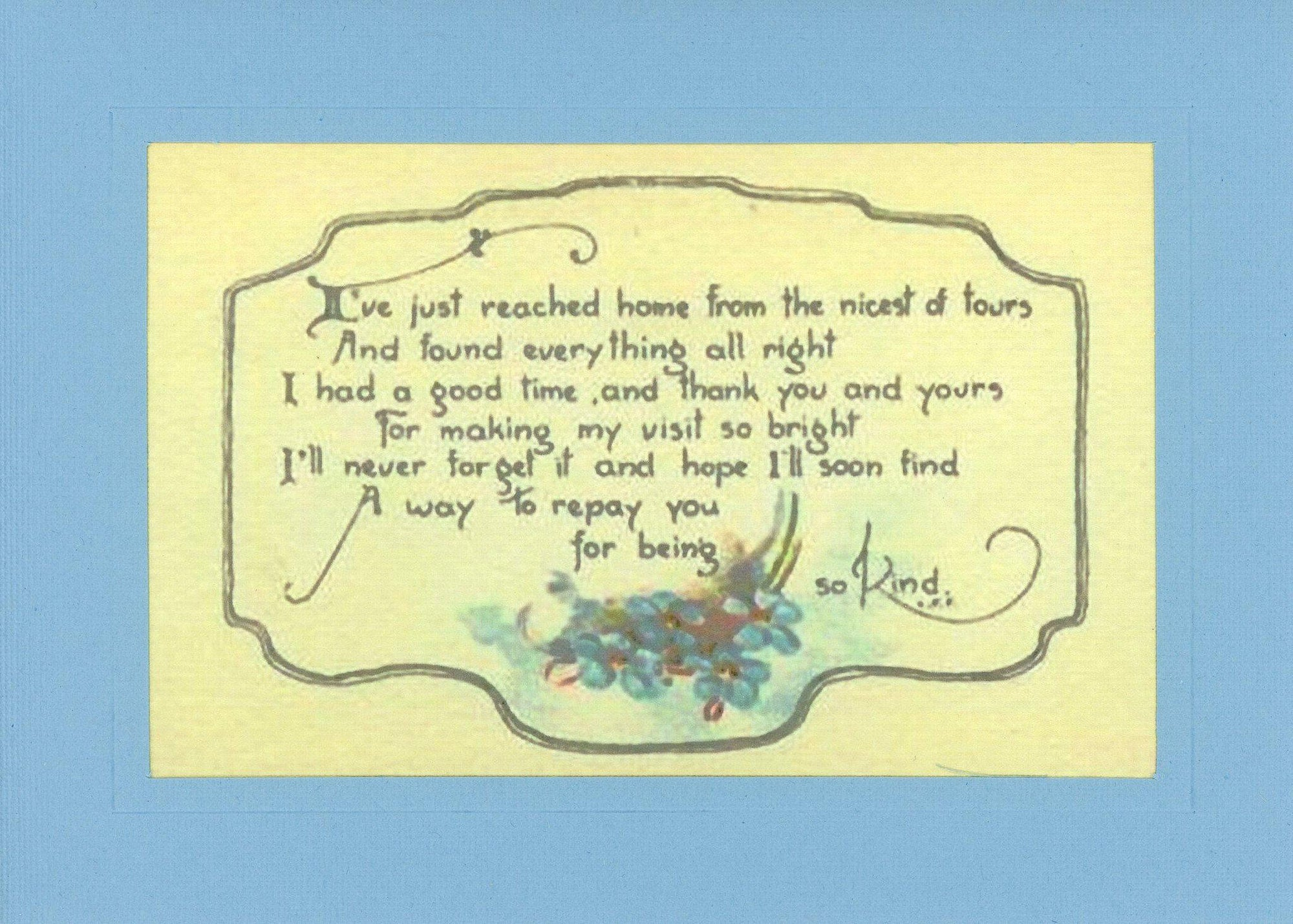 Kindness Thank You-Greetings from the Past-Plymouth Cards