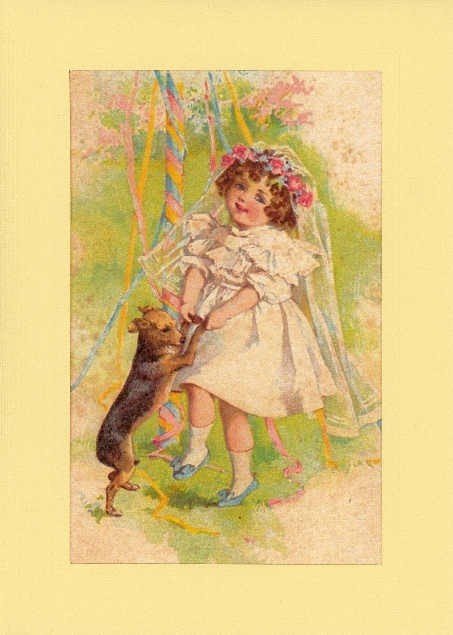 Springtime Fun-Greetings from the Past-Plymouth Cards