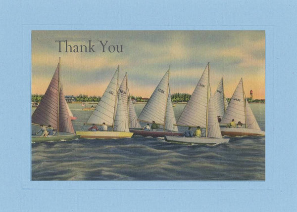 Thank you - Sailboat - PLYMOUTH CARD COMPANY