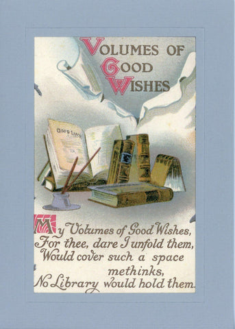 Volumes of Good Wishes - PLYMOUTH CARD COMPANY