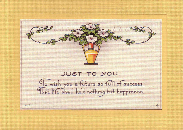 Just to You - PLYMOUTH CARD COMPANY