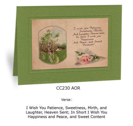 I Wish You Patience - PLYMOUTH CARD COMPANY