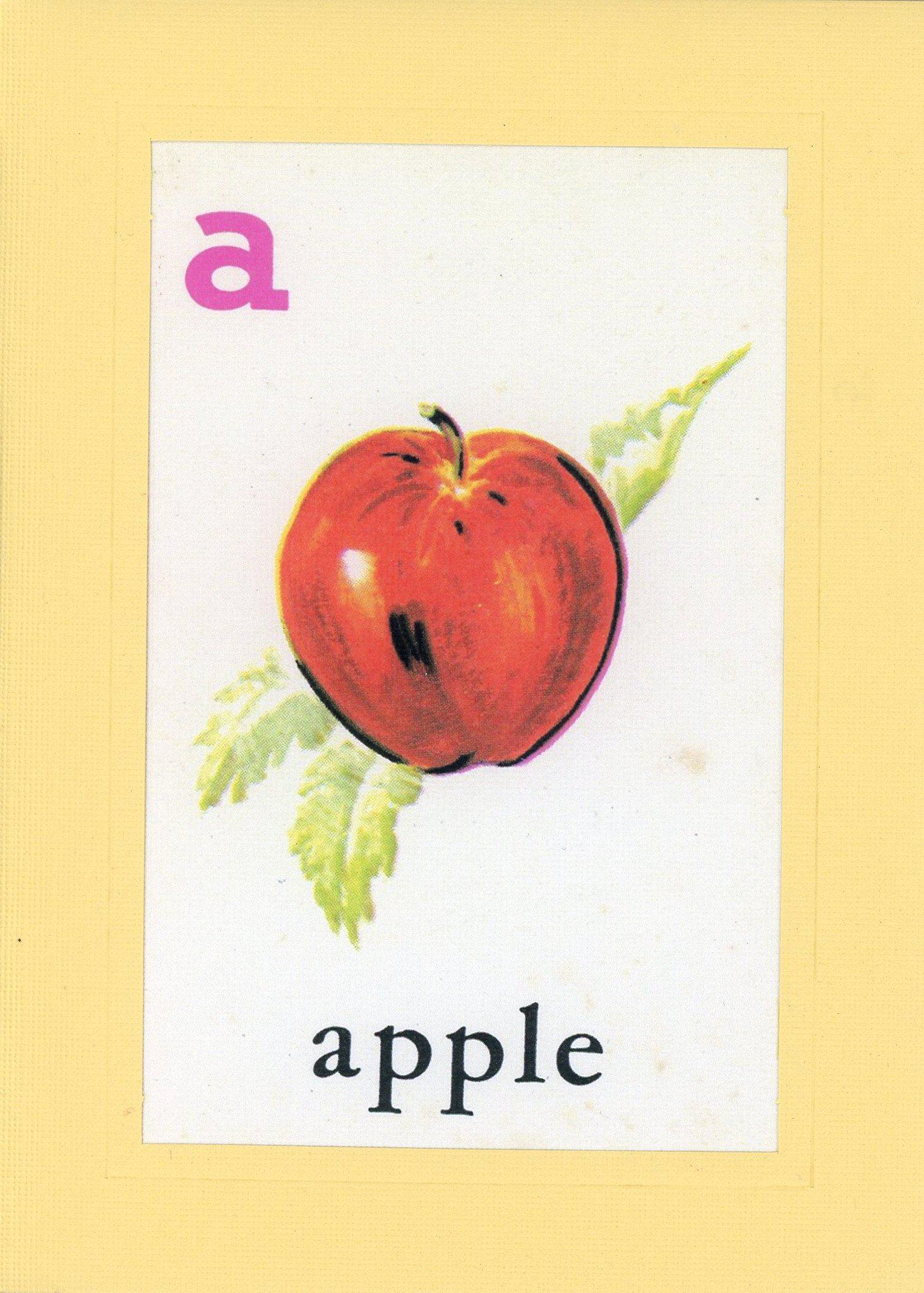 A is for Apple-Alphabet Soup-Plymouth Cards