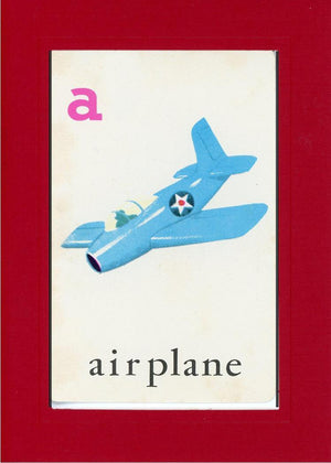 A is for Airplane - PLYMOUTH CARD COMPANY  - 19