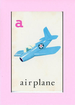 A is for Airplane - PLYMOUTH CARD COMPANY  - 20