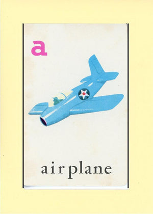 A is for Airplane - PLYMOUTH CARD COMPANY  - 22