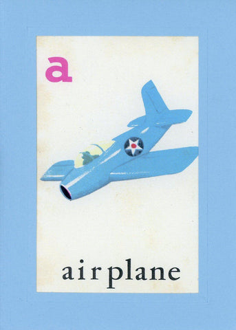 A is for Airplane - PLYMOUTH CARD COMPANY  - 1