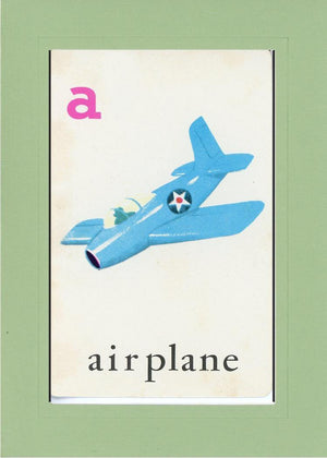 A is for Airplane - PLYMOUTH CARD COMPANY  - 23