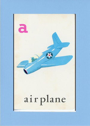 A is for Airplane - PLYMOUTH CARD COMPANY  - 24
