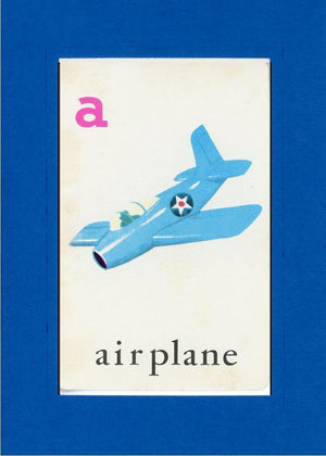 A is for Airplane - PLYMOUTH CARD COMPANY  - 25