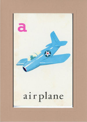 A is for Airplane - PLYMOUTH CARD COMPANY  - 26