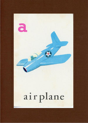 A is for Airplane - PLYMOUTH CARD COMPANY  - 27