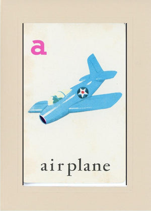 A is for Airplane - PLYMOUTH CARD COMPANY  - 29