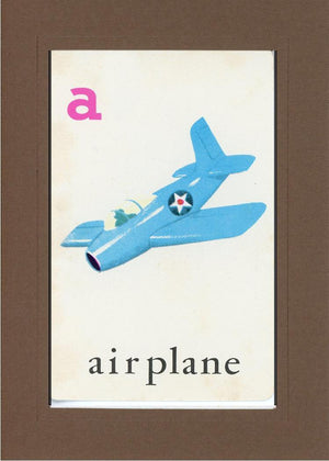 A is for Airplane - PLYMOUTH CARD COMPANY  - 30