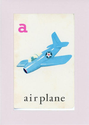 A is for Airplane - PLYMOUTH CARD COMPANY  - 31