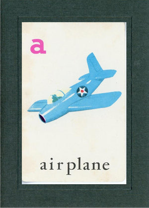 A is for Airplane - PLYMOUTH CARD COMPANY  - 2