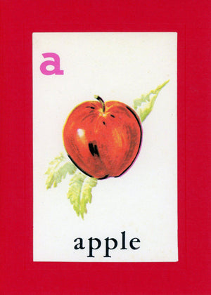 A is for Apple - PLYMOUTH CARD COMPANY  - 1