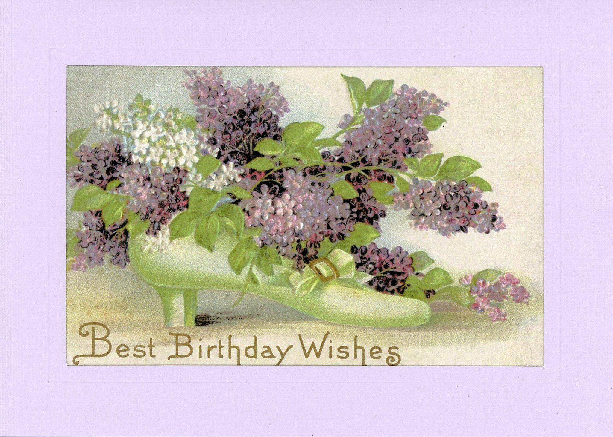 Best Birthday Wishes-Greetings from the Past-Plymouth Cards