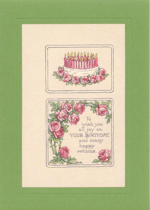 Wish Joy on Birthday - PLYMOUTH CARD COMPANY