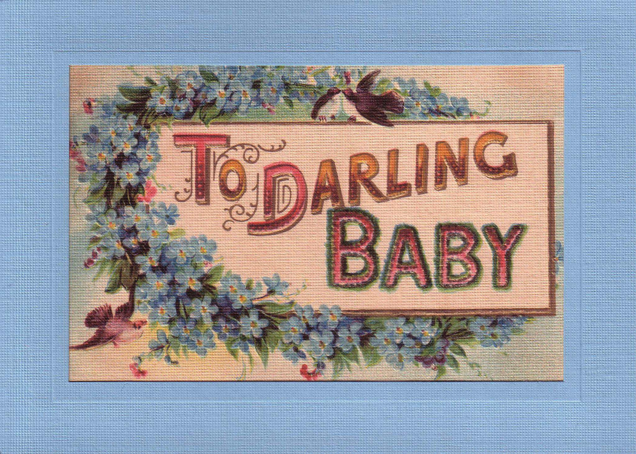 Darling Baby Boy-Greetings from the Past-Plymouth Cards