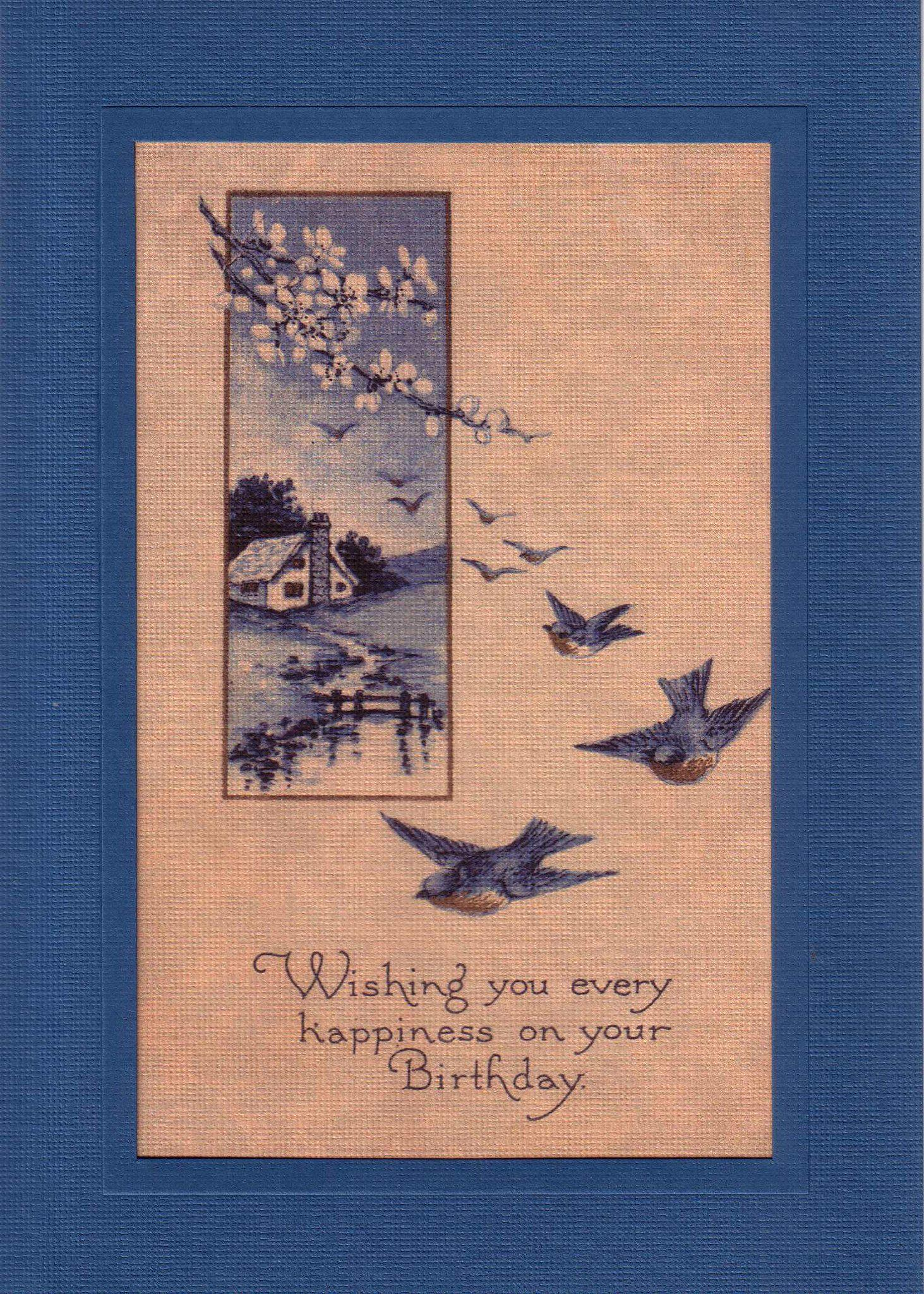 Birthday Happiness-Greetings from the Past-Plymouth Cards