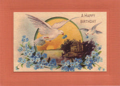 A Happy Birthday - PLYMOUTH CARD COMPANY  - 1