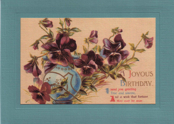 Joyous Birthday - PLYMOUTH CARD COMPANY