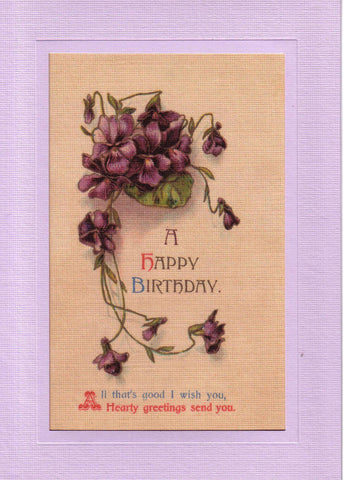 Happy Birthday - PLYMOUTH CARD COMPANY
