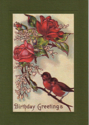 Birthday Greetings - PLYMOUTH CARD COMPANY  - 1