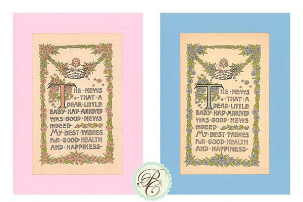 New Baby Congratulations (Boy or Girl) - PLYMOUTH CARD COMPANY  - 1