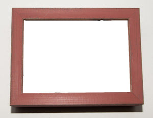 Barnwood Red Picture Frame-Plymouth Cards