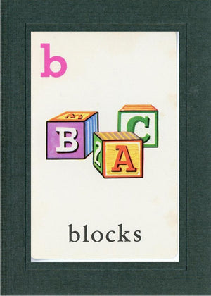 B is for blocks - PLYMOUTH CARD COMPANY  - 2