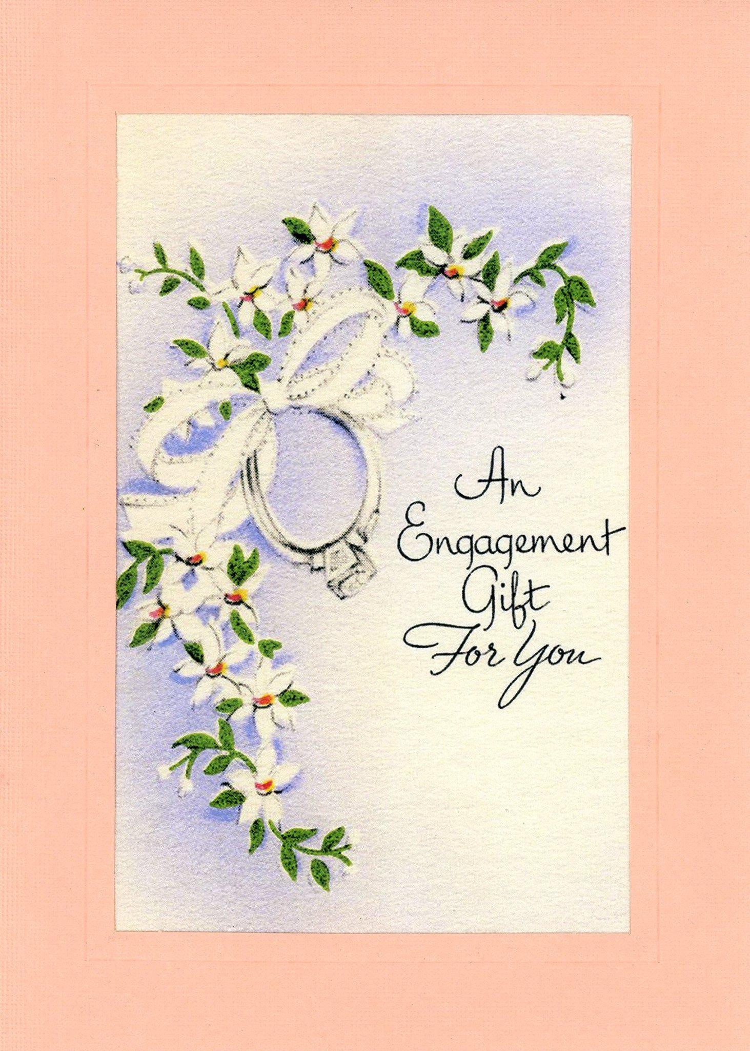An Engagement Gift for You-Greetings from the Past-Plymouth Cards