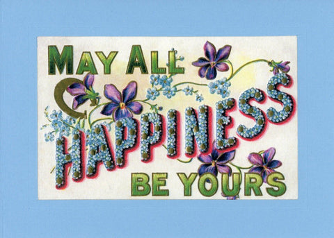 Happiness Be Yourrs - PLYMOUTH CARD COMPANY